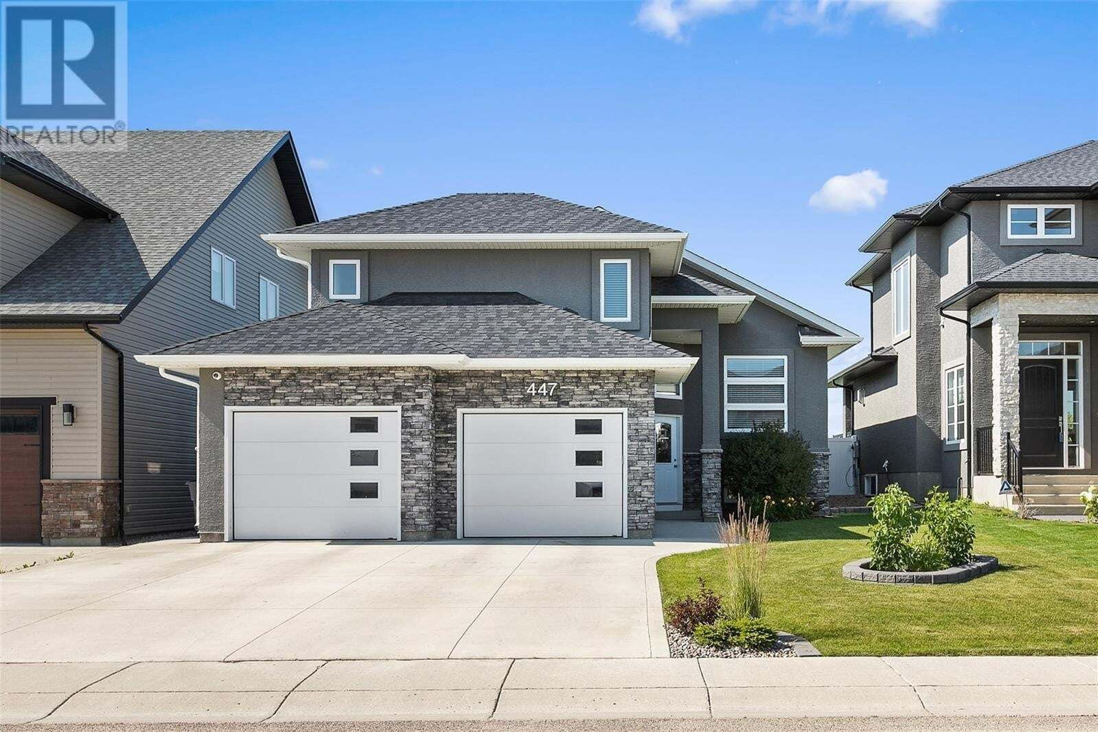 House for sale at 447 Mahabir Cres Saskatoon Saskatchewan - MLS: SK821002