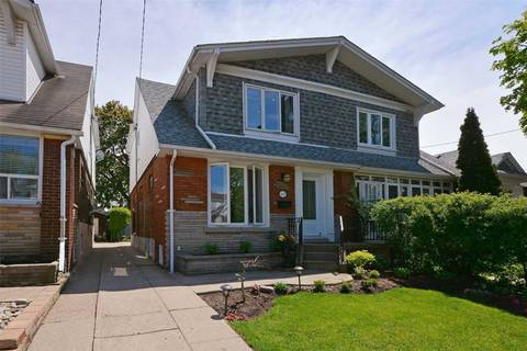 Townhouse for sale at 447 Milverton Blvd Toronto Ontario - MLS: E4490421