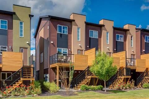 Townhouse for sale at 449 Covecreek Circ Northeast Calgary Alberta - MLS: C4262991