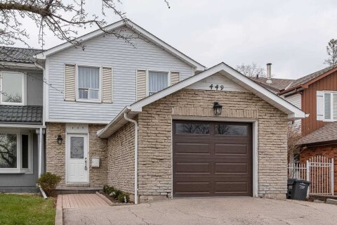 Townhouse for sale at 449 Daralea Hts Mississauga Ontario - MLS: W4994487