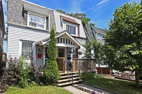 Townhouse for sale at 449 Woodfield Rd Toronto Ontario - MLS: E4518552