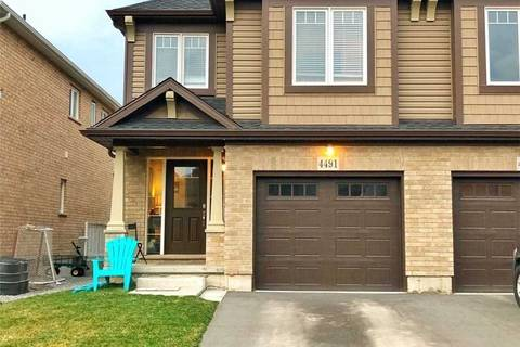 Townhouse for sale at 4491 Shuttleworth Dr Niagara Falls Ontario - MLS: X4429572