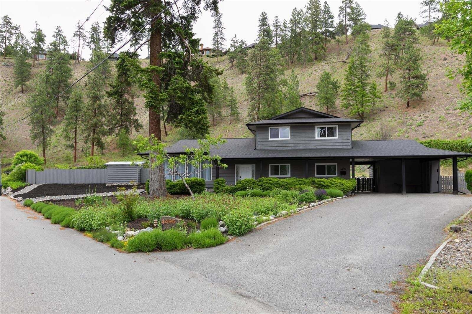 House for sale at 4495 Schamerhorn Ct Kelowna British Columbia - MLS: 10205459