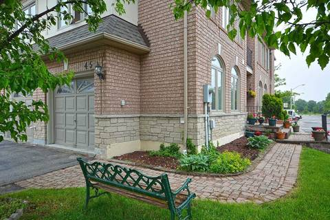 Condo for sale at 1285 Bristol Rd Unit 45 Mississauga Ontario - MLS: W4483110