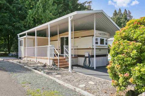 Residential property for sale at 14600 Morris Valley Rd Unit 45 Mission British Columbia - MLS: R2396015