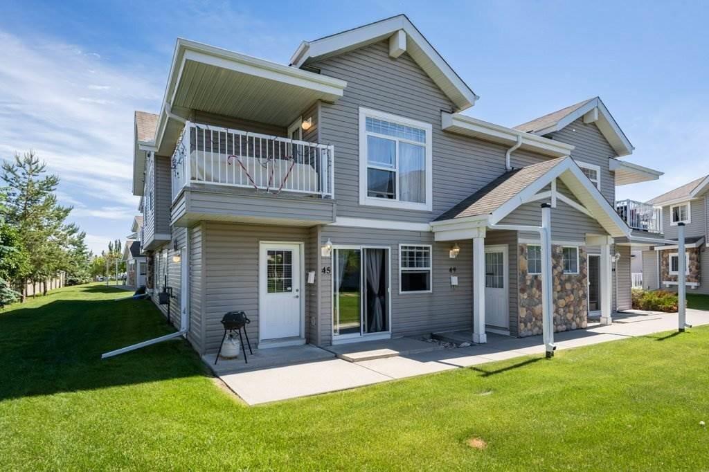 Townhouse for sale at 150 Edwards Dr SW Unit 45 Edmonton Alberta - MLS: E4203041