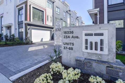Townhouse for sale at 16336 23a Ave Unit 45 Surrey British Columbia - MLS: R2363724