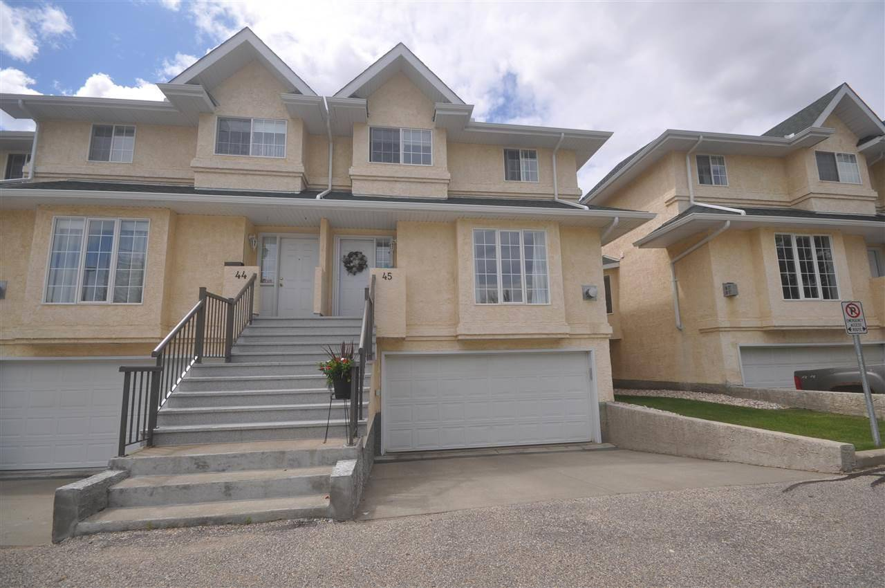 Townhouse for sale at 2419 133 Ave Nw Unit 45 Edmonton Alberta - MLS: E4164165
