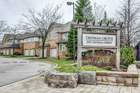 Condo for sale at 2555 Thomas St Unit 45 Mississauga Ontario - MLS: W4520672