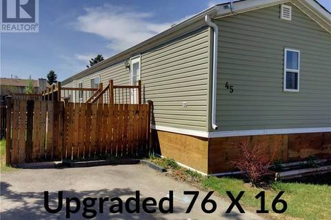 Residential property for sale at 5344 76 St Unit 45 Red Deer Alberta - MLS: ca0164249