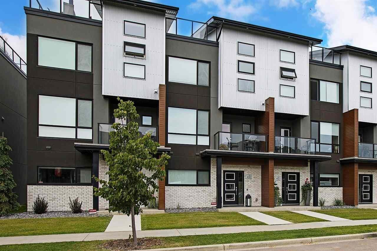 Townhouse for sale at 95 Salisbury Wy Unit 45 Sherwood Park Alberta - MLS: E4211092