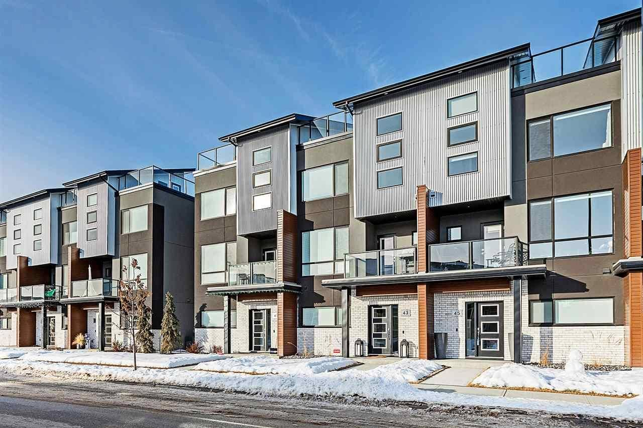 Townhouse for sale at 95 Salisbury Wy Unit 45 Sherwood Park Alberta - MLS: E4187089