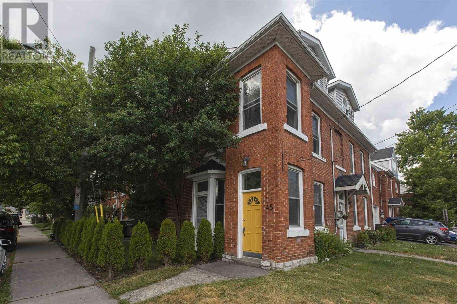 Townhouse for sale at 45 Bay St Kingston Ontario - MLS: K20003613