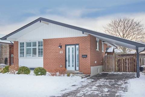 House for sale at 45 Brant Ct Oshawa Ontario - MLS: E4674524