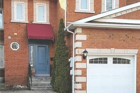 Townhouse for rent at 45 Brownstone Circ Vaughan Ontario - MLS: N4671590