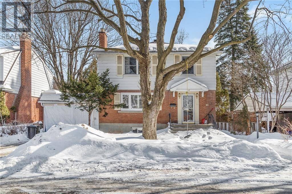 House for sale at 45 Bullock Ave Ottawa Ontario - MLS: 1182241