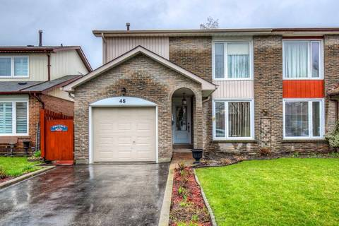 Townhouse for sale at 45 Camberley Cres Brampton Ontario - MLS: W4422446