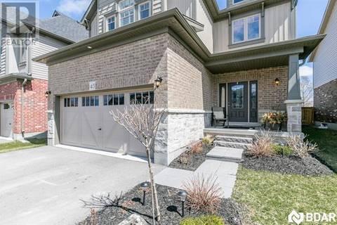 House for sale at 45 Carleton Tr Beeton Ontario - MLS: 30729239