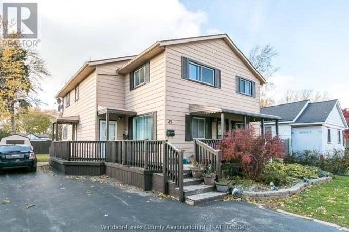 Townhouse for sale at 45 Chestnut  Leamington Ontario - MLS: 20013209
