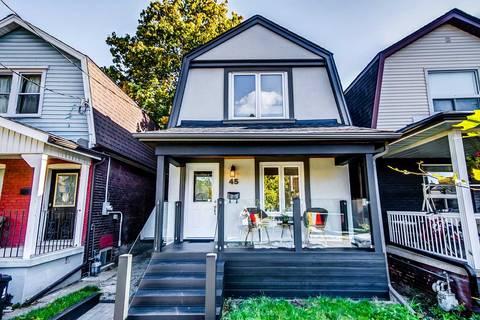 House for sale at 45 Eldon Ave Toronto Ontario - MLS: E4695448