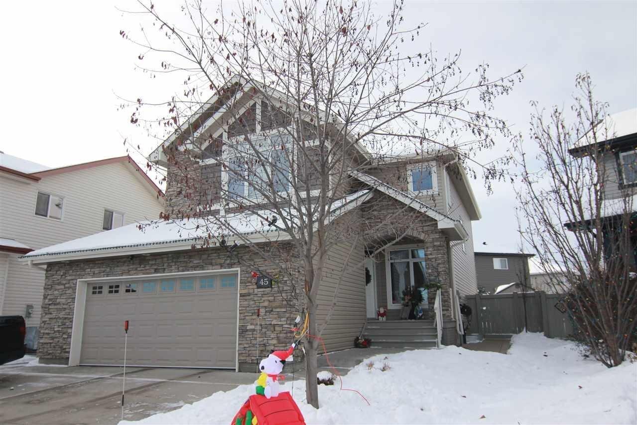 House for sale at 45 Ellington Cr St. Albert Alberta - MLS: E4213036