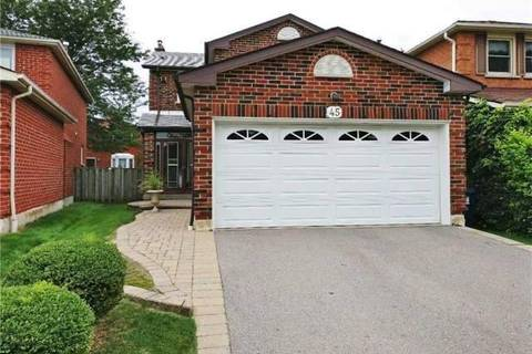 House for sale at 45 Fort Dearborn Dr Toronto Ontario - MLS: E4389057
