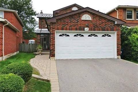 House for sale at 45 Fort Dearborn Dr Toronto Ontario - MLS: E4422065
