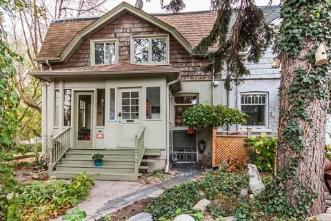Townhouse for sale at 45 Geneva Ave Toronto Ontario - MLS: C4716344
