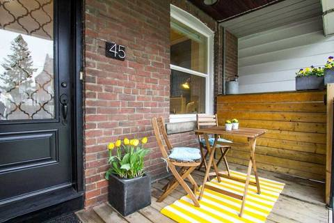Townhouse for sale at 45 Greenwood Ave Toronto Ontario - MLS: E4423647