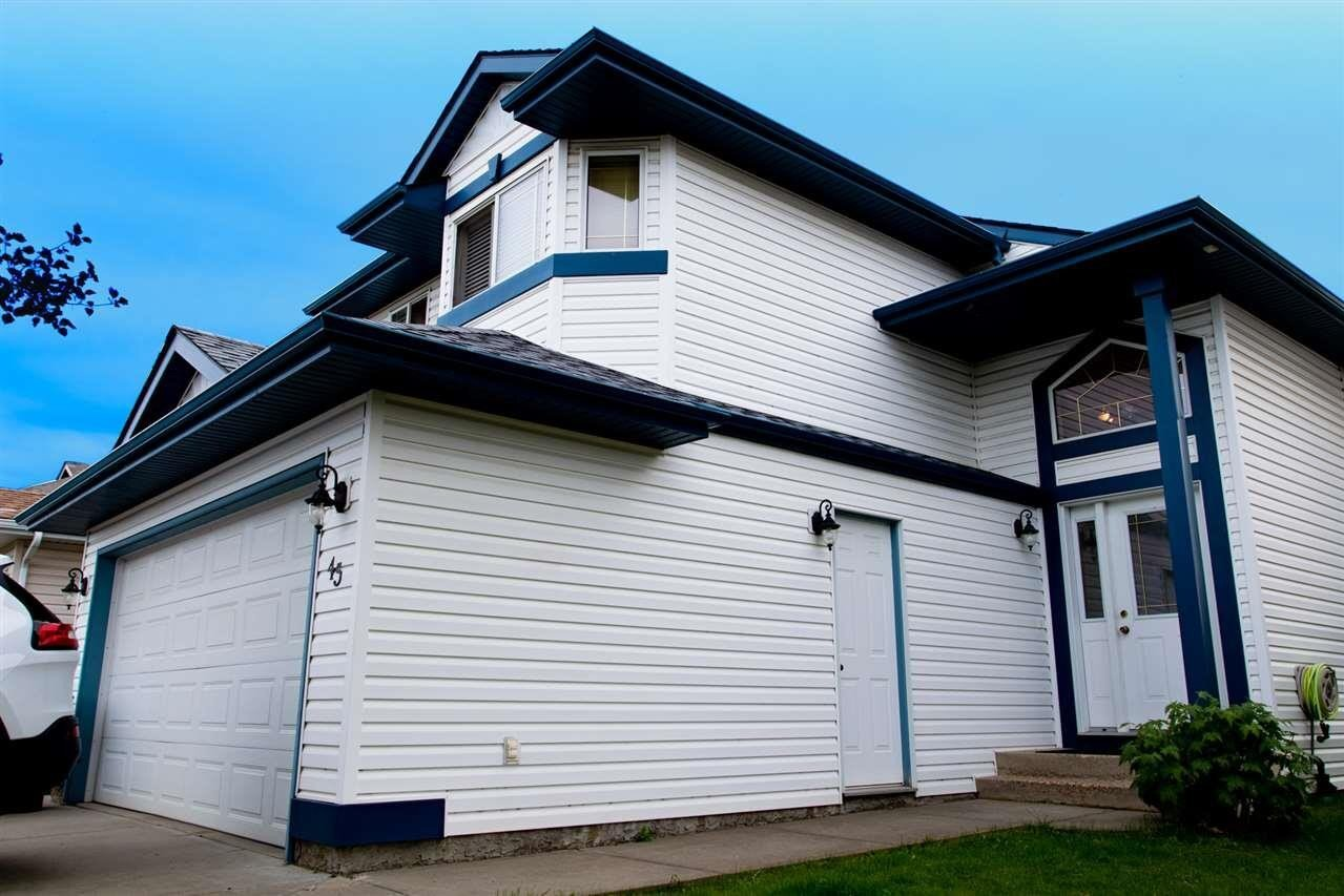 House for sale at 45 Highlands Wy Spruce Grove Alberta - MLS: E4212688
