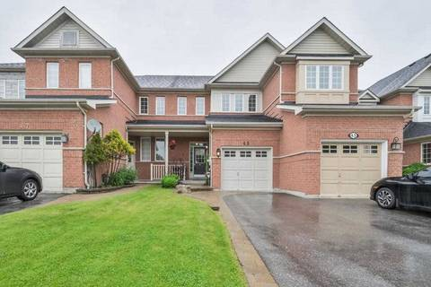 Townhouse for sale at 45 Inlet Bay Dr Whitby Ontario - MLS: E4486020