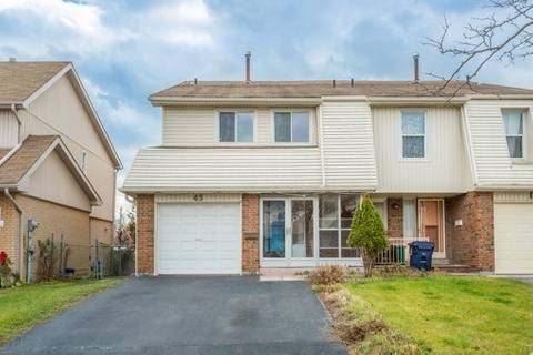 Townhouse for rent at 45 Kenfin Ave Toronto Ontario - MLS: E4529430