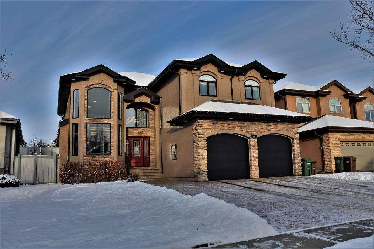 House for sale at 45 Lafleur Dr St. Albert Alberta - MLS: E4187465