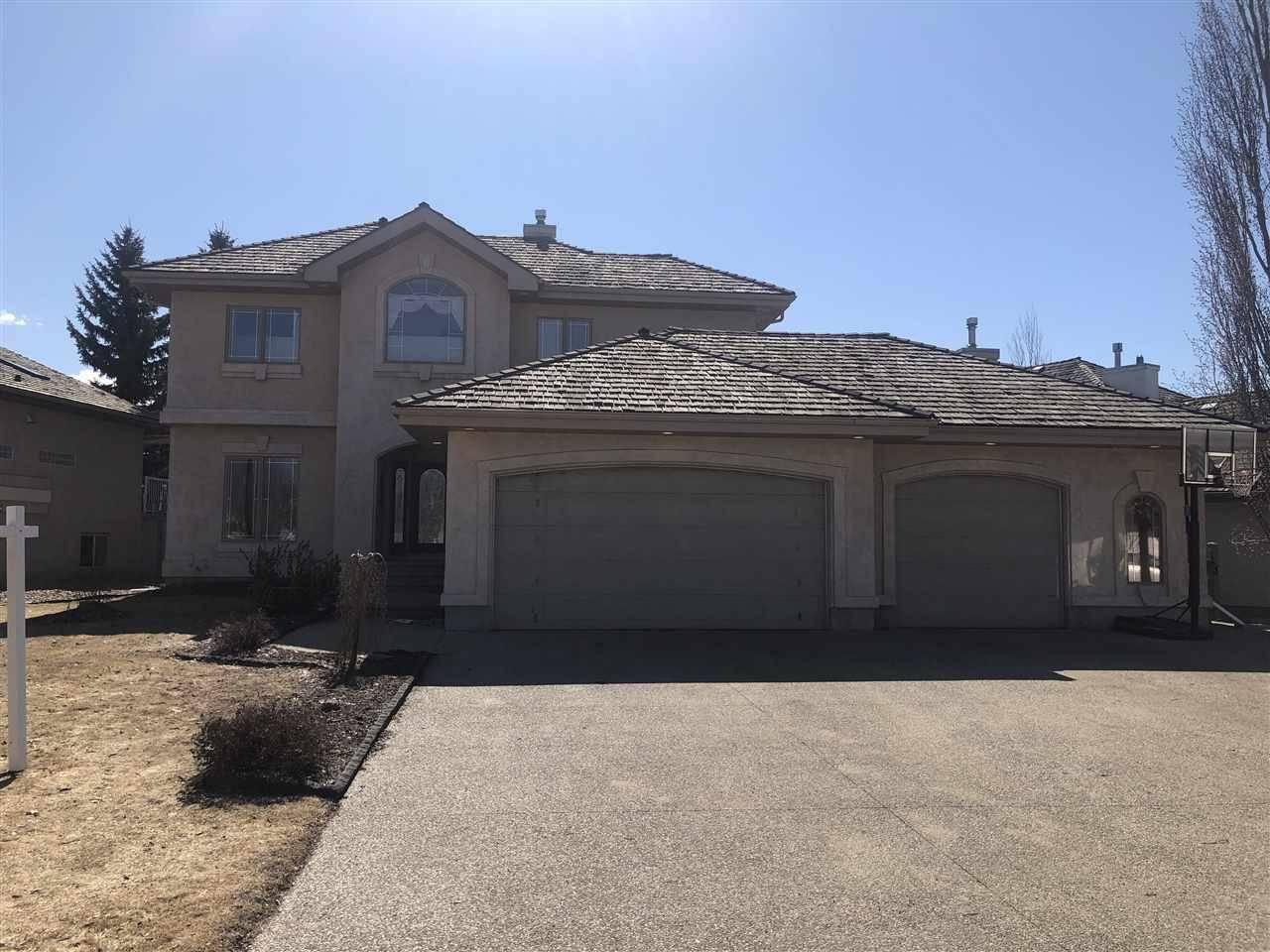 House for sale at 45 Leonard Dr St. Albert Alberta - MLS: E4182077