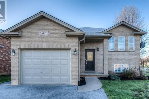 House for sale at 45 Limerick Ln Brantford Ontario - MLS: 30734409