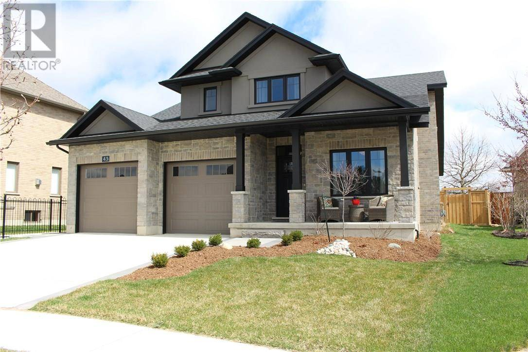 House for sale at 45 Little Thames Pl Stratford Ontario - MLS: 30744496