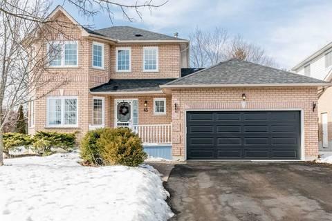 House for sale at 45 Mcguire Cres Uxbridge Ontario - MLS: N4702751
