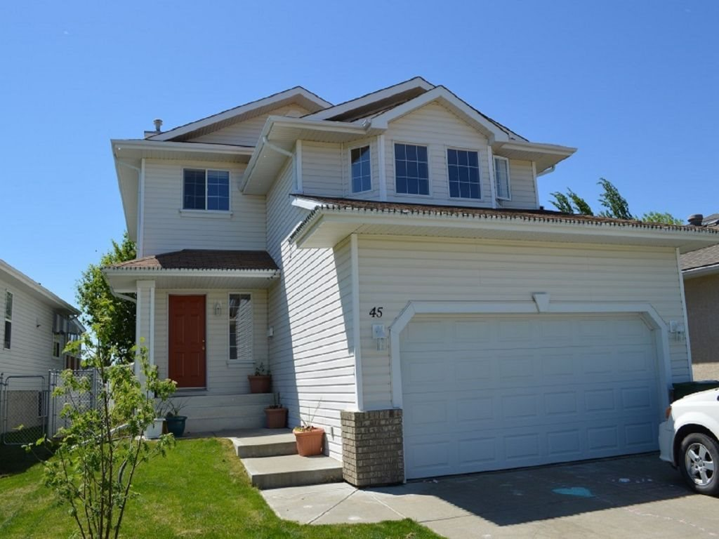 For Sale: 45 Meadowview Drive, Leduc, AB | 4 Bed, 3 Bath House for $385,000. See 18 photos!