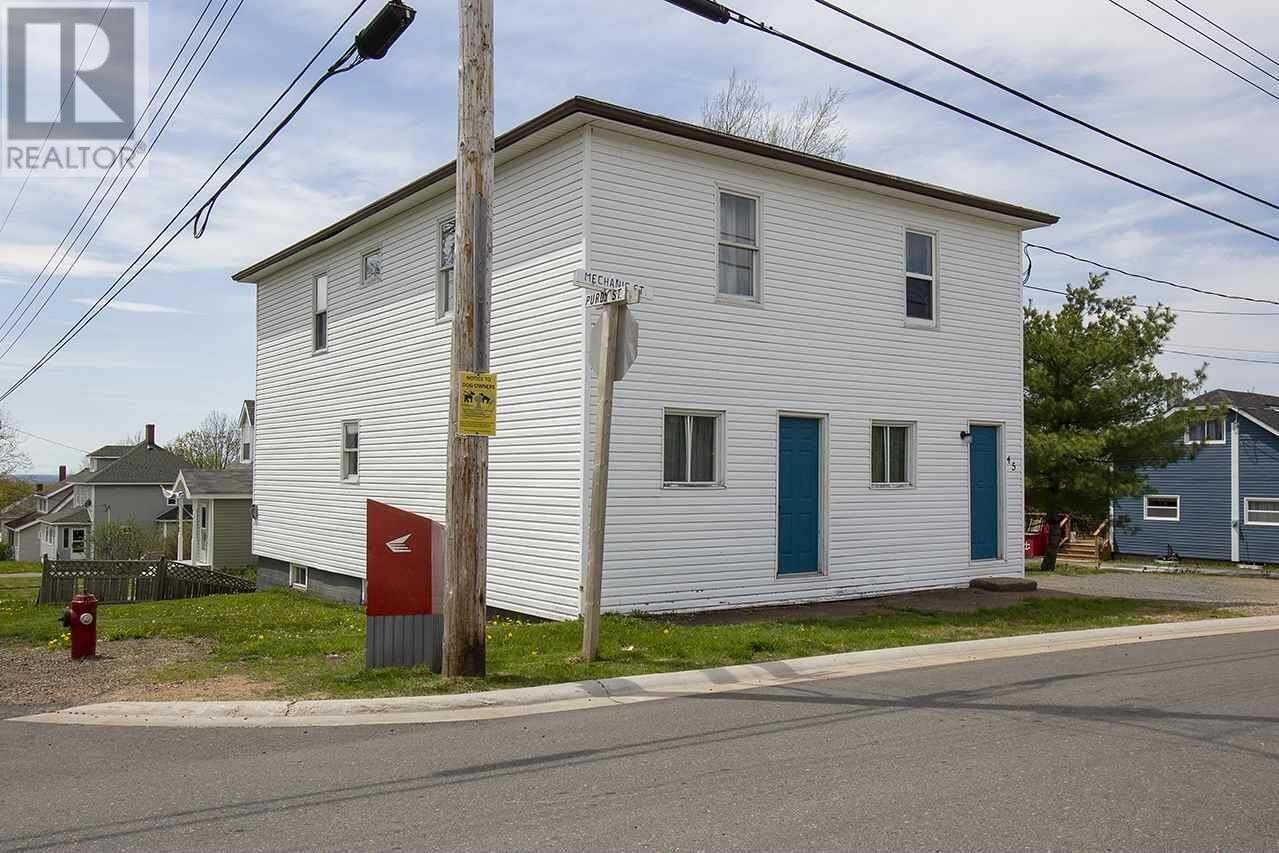 Townhouse for sale at 45 Mechanic St Springhill Nova Scotia - MLS: 202000951