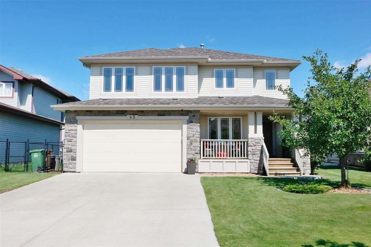 House for sale at 45 Newbury Co St. Albert Alberta - MLS: E4214489