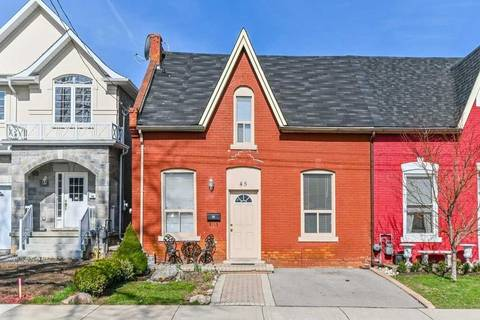 Townhouse for sale at 45 Oak Ave Hamilton Ontario - MLS: X4421962