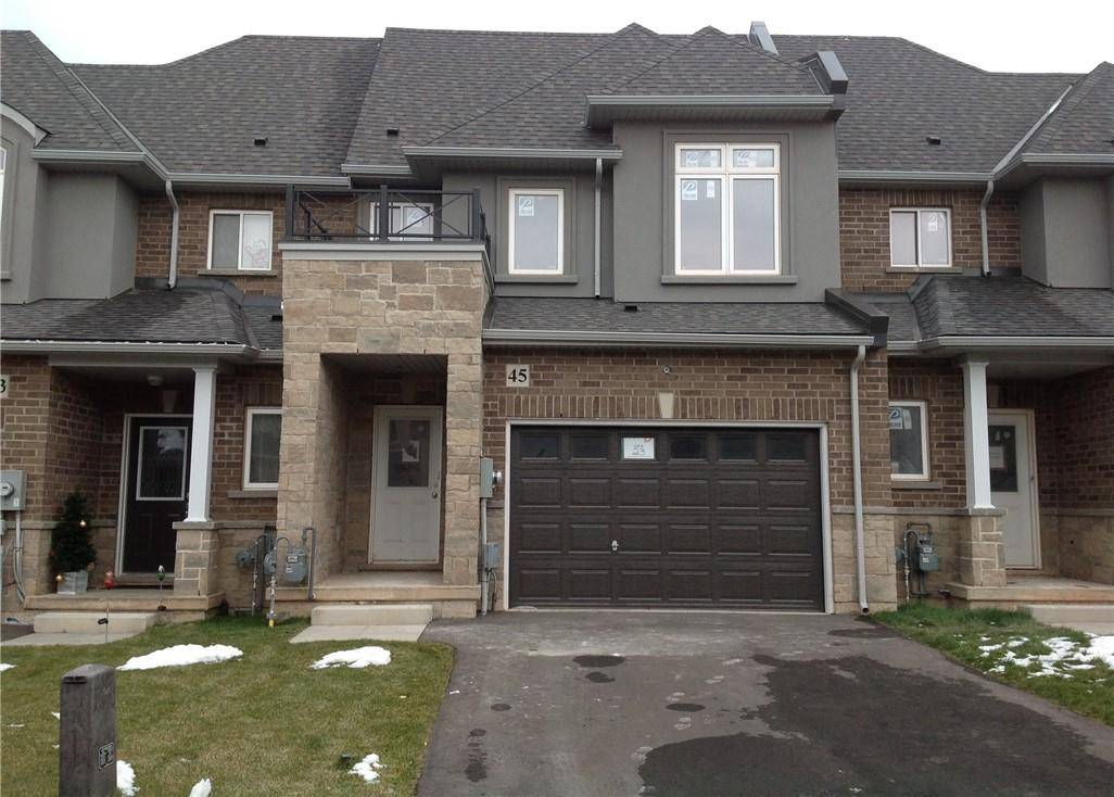 Townhouse for sale at 45 Pinot Cres Stoney Creek Ontario - MLS: H4062308