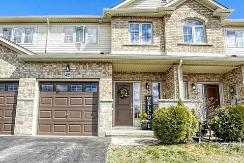 Townhouse for sale at 45 Redcedar Cres Hamilton Ontario - MLS: X4475989