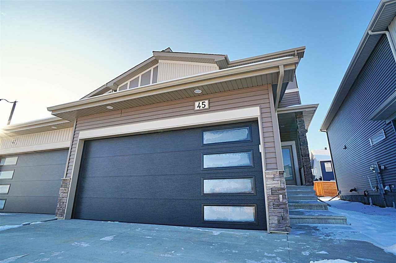 Townhouse for sale at 45 Robin Wy St. Albert Alberta - MLS: E4183022