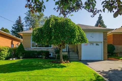 House for sale at 45 Rochman Blvd Toronto Ontario - MLS: E4603367