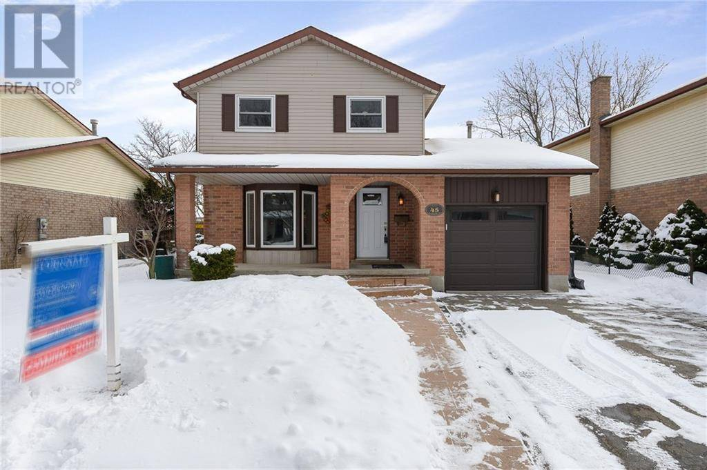 House for sale at 45 Rushbrook Dr Kitchener Ontario - MLS: 30791208