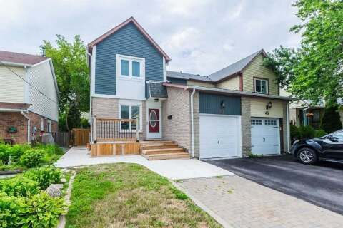 Townhouse for sale at 45 Sparklett Cres Brampton Ontario - MLS: W4860372