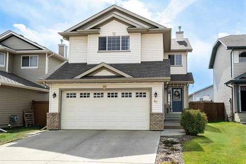 House for sale at 45 Spruce Grouse Cres Spruce Grove Alberta - MLS: E4154972