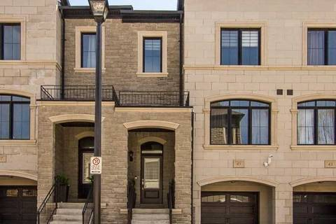 Townhouse for sale at 45 Stallibrass Ln Richmond Hill Ontario - MLS: N4425274