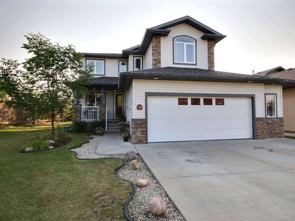 For Sale: 45 Valley Pointe Road, Fort Saskatchewan, AB | 4 Bed, 4 Bath House for $499,900. See 19 photos!